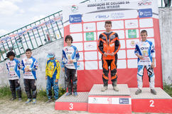 Podium de Juvenis Photo stock