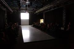 Podium der Cpm-Ansammlungs-Premiere Stockfotografie