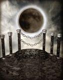 podium för fantasi 2 stock illustrationer