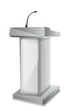 Podium with mic Stock Images
