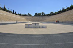 Podium, Panathenaic Stadium Stock Images