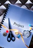 Podium project idea Stock Images