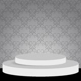 Podium. Vector illustration of empty podium for your design Stock Images