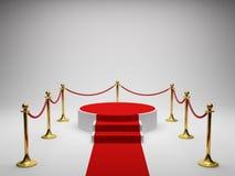 Podium for winner Stock Images