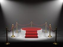 Podium for winner Royalty Free Stock Image