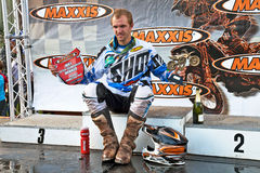 Podium winner Stock Photos