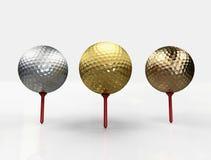 Podiume de golf Photographie stock libre de droits