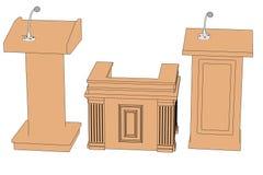 podiums Royaltyfri Bild