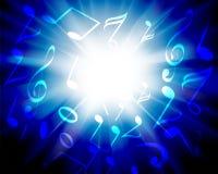 podkład muzyczny Obrazy Stock