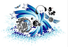 podkład muzyczny royalty ilustracja