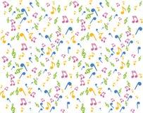 podkład muzyczny Zdjęcia Stock