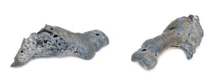 Podkamennaya Tunguska Meteorite. On a white background stock images