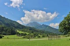 Podkoren, Σλοβενία Στοκ Εικόνα