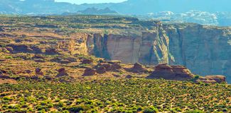 Podkowa chył w Grand Canyon parku narodowym, Arizona, Stany Zjednoczone Ameryka fotografia stock