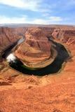 Podkowa chył widzieć od przegapia, Arizona, usa Obraz Royalty Free