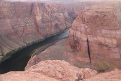 Podkowa chy?u Kolorado rzeka, Arizona zdjęcia stock