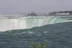 Podkowa spadki, kanadyjczyk przy skrajem Fotografia Royalty Free