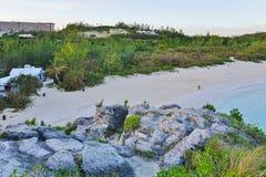 Podkowy zatoki plaża w Bermuda obrazy stock
