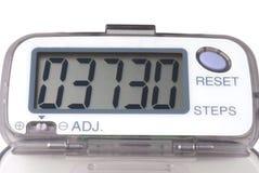 Podómetro Fotos de archivo