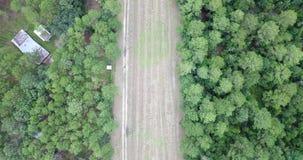 Podmiejski amerykanina krajobrazu widok z lotu ptaka zbiory