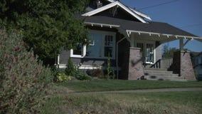Podmiejski dom zdjęcie wideo