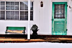 Podmiejski dom wewnątrz Zdjęcie Royalty Free