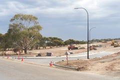 Podmiejski rozwój w Południowym Australia Zdjęcia Royalty Free