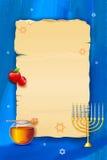 podmuchowego chłopiec hashanah żydowski nowy rosh shofar rok Obraz Royalty Free