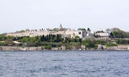 podnóżek istanbul pałacu indyk zdjęcie stock