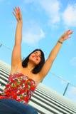 podnieść ręce Zdjęcie Stock