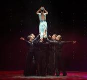 Podnosi up bogini magię flaminga tana Austria światowy taniec Zdjęcia Stock