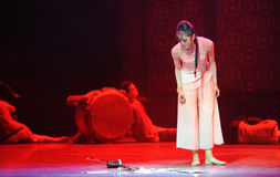Podnoszący up erhu-The trzeci akt tana dramata wydarzenia past Zdjęcie Royalty Free