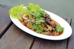 PODOŁKA Tajlandia jedzenie obraz stock