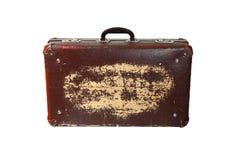 podobieństwo ścinku walizki ścieżki pojedynczy roczne Zdjęcia Stock