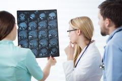 podobieństwo metodĄ magnetycznego rezonansu jĄdrowego Zdjęcie Stock