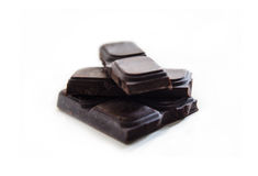 podobieństwo tła fiutka czekoladę szereg żywności białe Obrazy Royalty Free