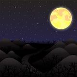 podobieństwo tła instalacji krajobrazu nocy zdjęcia stołu piękna użycia Zdjęcia Stock