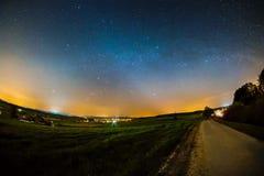 podobieństwo tła instalacji krajobrazu nocy zdjęcia stołu piękna użycia zdjęcie stock