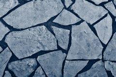 Podłoga od naturalnej kamień płytki błękitny kolor Obrazy Stock