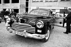 Podol,乌克兰- 2016年5月19日:GAZ-12 ZIM,豪华苏联limousi 库存照片