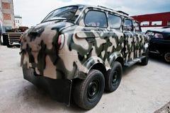 Podol, Ουκρανία - 19 Μαΐου 2016: Κλασικό σοβιετικό αναδρομικό αυτοκίνητο με το wo Στοκ φωτογραφίες με δικαίωμα ελεύθερης χρήσης