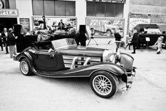 Podol, Ουκρανία - 19 Μαΐου 2016: Mercedes-Benz 540K (W24), πολυτέλεια Στοκ Φωτογραφίες