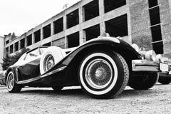 Podol, Ukraine - 19. Mai 2016: Phillips Berlina Coupe, altes vinta Lizenzfreies Stockbild