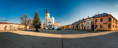 PODOLINEC, SLOVAKIA, 01 JAN 2016: Podolinec is a little historic Royalty Free Stock Photography