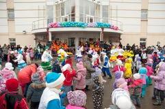 Todos dança Fotografia de Stock Royalty Free