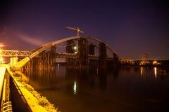 The Podolsky bridge Royalty Free Stock Photos