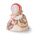 Podorozhnitsa - poupée de chiffon traditionnelle russe Image libre de droits