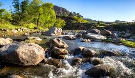 Podpływowy Wodny strumień obraz royalty free