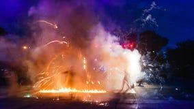 Podpala przedstawienie zdjęcia royalty free