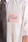 podpalająca koszula Obraz Stock